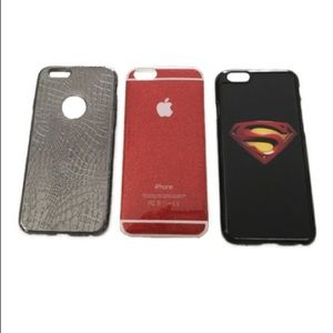 Accessories - iPhone 6/6s Set of 3 Cases